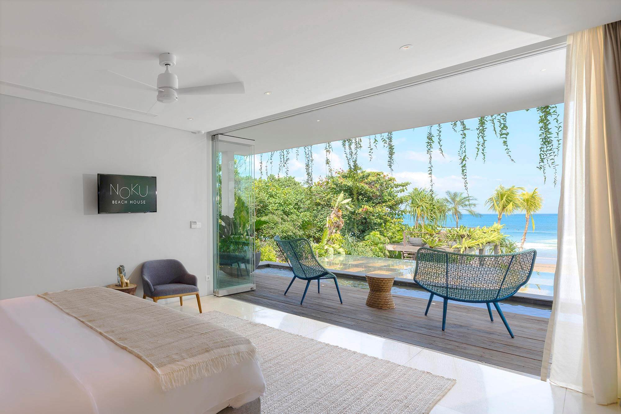 Noku Beach House   Marvelous View From Bedroom