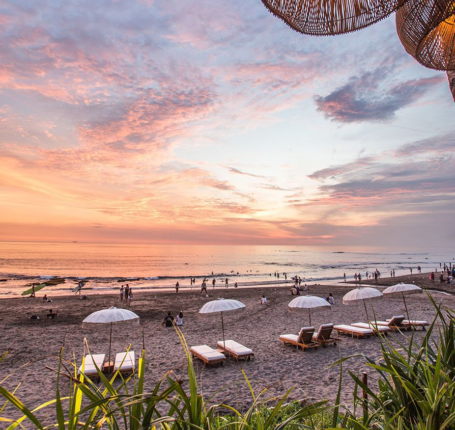 Noku Beach House - Sunset at Canggu